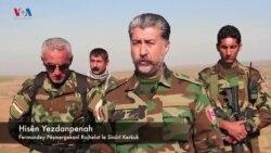 هێزێـکی پـێشمەرگەی ڕۆژهەڵاتی کوردستان لە سەنگەرەکانی پـێشەوەی دژی داعش
