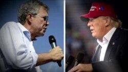 Guerra de palabras entre Trump y Bush