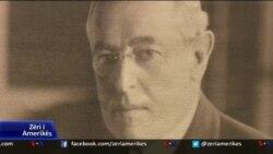 Shqiptarët nderojnë Presidentin Woodrow Wilson