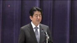 安倍晉三誓言加強保衛日本領土主權
