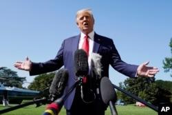 Prezident Tramp deydiki, uning demokrat raqibi Jo Bayden Vashingtonga hech qanday yangilik qilmaydi