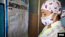 Personal sanitario agotado por la pandemia