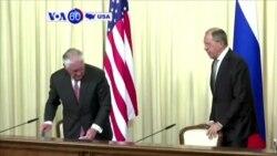 Manchetes Americanas 13 Abril 2017: Rex Tillerson teve encontro tenso com Vladimir Putin