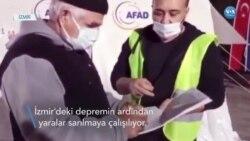 İzmir'deki Depremde Yaralar Sarılmaya Çalışılıyor