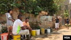 La lucha contra el coronavirus sin agua