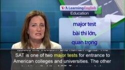 Anh ngữ đặc biệt: New SAT BYLINE (VOA-Edu)