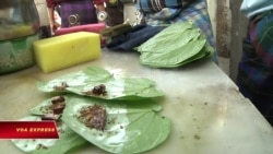 Mặc nguy cơ ung thư, nhai trầu vẫn phổ biến ở Myanmar