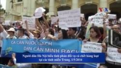 Dân Việt kêu gọi tiếp tục biểu tình vụ cá chết