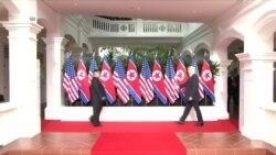 Donald Trump y Kim Jong Un hacen historia