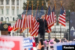 Trump 6 Ocak'ta Washington'da destekçilerine hitap ediyor