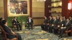 海峡两岸官员南京举行首次会谈