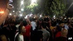 تظاهرات ضددولتی گروه کوچکی از مردم مصر در قاهره - ۳۰ شهریور ۱۳۹۸