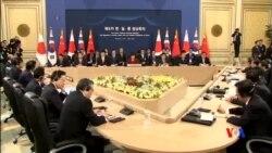 2015-11-01 美國之音視頻新聞: 中日韓領袖在首爾舉行三國會談