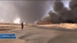 Irak'ta Petrol Tesisleri Yangın Yeri