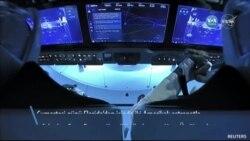 Crew Dragon Uluslararası Uzay İstasyonu'na Ulaştı