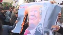 巴勒斯坦人強烈反對美國中東計劃