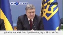 Đàm phán hòa bình trong lúc giao tranh tiếp diễn ở Ukraine (VOA60)