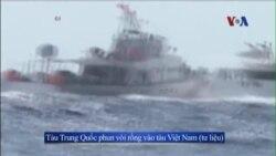 Tàu cá Việt Nam bị tàu Trung Quốc tấn công gần Hoàng Sa