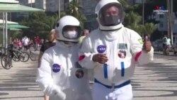 Նոր կանոններով «Դիսնեյ», տիեզերագնացի հագուստով վիրուսից պաշտպանվողներ. մի փոքր ժպիտ