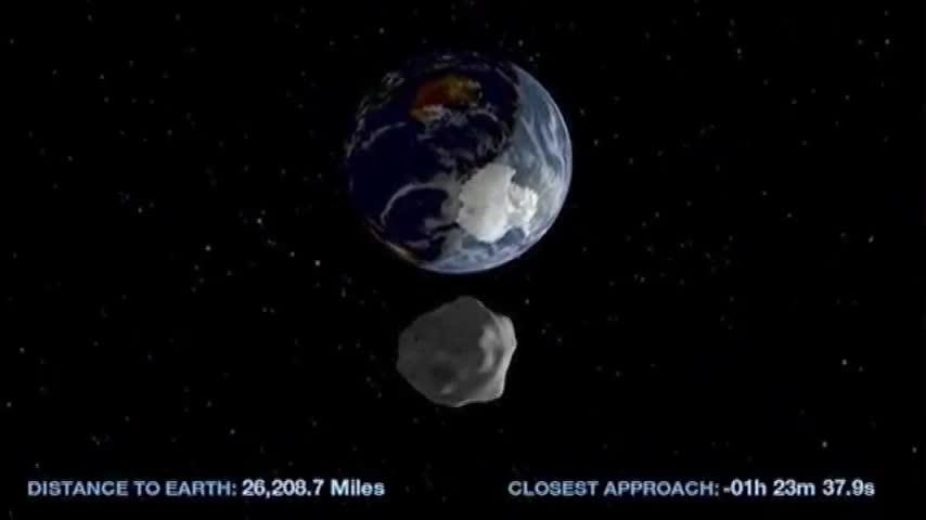 Երկրագնդին են մոտենում աստերոիդներ