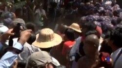 2015-03-10 美國之音視頻新聞: 緬甸中部學生與警察爆發衝突