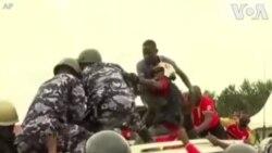 Waandamanaji Uganda wapinga kukamatwa kwa Bobi Wine
