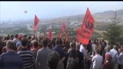 土耳其下葬爆炸死難者 政府空襲反政府武裝