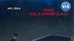 Ra mắt xe Tesla Cybertruck bị 'bể dĩa'