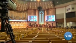 VOA英语视频: 韩国新冠病毒疫情爆发 新天地教会是否应担责