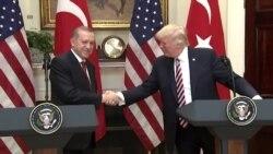 """Ердоган во Белата куќа: """"Определени сме да се бориме против сите видови на тероризам"""""""