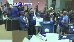 Abanyafurika y'Epfo ibihumbi basabye perezida Zuma gutanga ubutegetsi