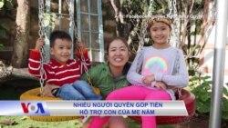 Nhiều người quyên góp tiền hỗ trợ con của Mẹ Nấm