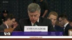 Impeachment: audition de témoin clés, ouverte au public