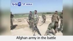 VOA60 World - Afghan Forces Battle Taliban to Retake Kunduz - September 29, 2015