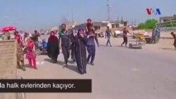 IŞİD Musul'un Batısında Sivilleri Evlerini Terke Zorluyor