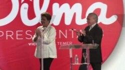 Rousseff y Neves a segunda vuelta