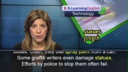 Technology Being Used to Fight Graffiti Writers