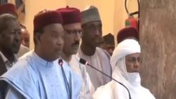 Le président réélu Mahamadou Issoufou s'adresse à la nation