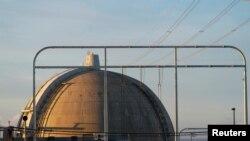 지난해 12월 미국 캘리포니아주 샌클레멘테에 위치한 원자력발전소 내 원자로. (자료사진)