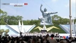 2015-08-09 美國之音視頻新聞:長崎原子彈爆炸70週年 生還者籲廢核反安保法