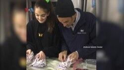 Jejak Diaspora Muslim: Menyatukan Komunitas Melalui Pembuatan Masker untuk Essential Workers