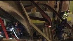 2013-07-13 美國之音視頻新聞: 巴黎附近列車出軌導致六人死亡