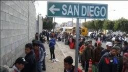 Кількасот мігрантів з країн Центральної Америки вже прибули до прикордонного мексиканського міста. Відео