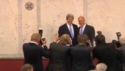 John Kerry en Estocolmo
