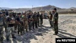 Badahshon viloyatiga safarbar qilingan qo'shimcha kuchlar, Afg'oniston, 4-iyul, 2021.