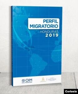 Imagen de documento Perfil Migratorio. [Foto cortesia de OIM Honduras].
