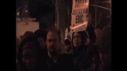美國多個大城市繼續爆發抗議示威