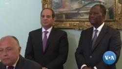 Les présidents égyptien et ivoirien se rencontrent à Abidjan