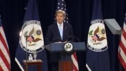 """John Kerry: """"Dois Estados é o caminho para a paz"""""""