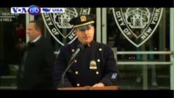 New York công bố biển tưởng niệm hai cảnh sát (VOA60)